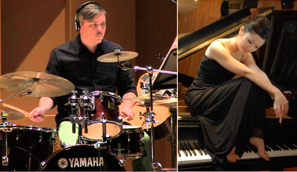 January 23 & 24, 2017 – Percussionist Ben Reimer and pianist Vicky Chow presents the world premiere of a new work for drum kit and piano (Vancouver, B.C.)