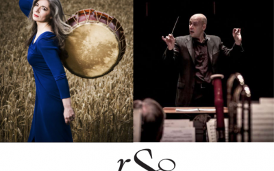 "September 23, 2017 – Dame Evelyn Glennie and Regina Symphony Orchestra presents ""The Shaman: Concerto for Percussion & Orchestra"" (Regina, Saskatchewan)."
