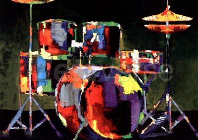 Kickin' It 2.0 (piano trio & drum kit)