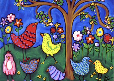 Terry's Whimsical Dream of Fanciful Birds…In C (flexible ensemble)